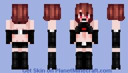 uɳɗɛʀʆuรt ❤️ cɦɑʀɑ (without sweater ( ͡° ͜ʖ ͡°) ) Minecraft Skin