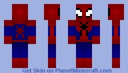 2014 Suit (The Amazing Spider-Man 2) Minecraft Skin