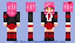 Amu Hinamori Minecraft Skin
