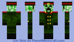 rndnlmtbg | Army Creeper Minecraft Skin