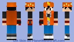 BoBoiBoy (from BoBoiBoy Galaxy) Minecraft Skin