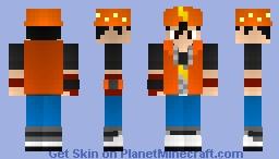 Boboiboy From Boboiboy Galaxy Minecraft Skin