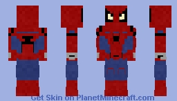 Spiderman | Custom Minecraft Skin