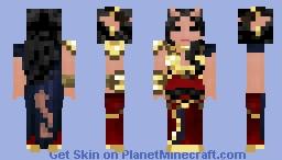 Female Tiefling Warlock Minecraft Skin