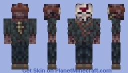 Jason Voorhees - Friday the 13th part VII Minecraft Skin