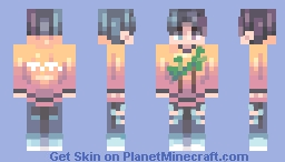 st // Aesthetic Minecraft Skin