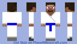Karate Steve Blue Belt