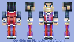 PMC Members - Marcel Minecraft Skin