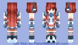 SF-A2 Miki - Vocaloid Minecraft Skin
