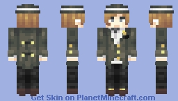 sIR eDwArD LuKeHAm (oC) Minecraft Skin
