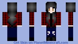 Skater/Tomboy Girl Minecraft Skin