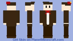11th doctor - doctor who Minecraft Skin