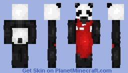 The Panda who works at Panda Express! Minecraft Skin