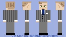 George H. W. Bush Minecraft Skin