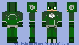 Custom Flash(Green) Minecraft Skin
