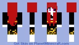 E.N.D Minecraft Skin