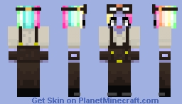 rndnlmtbg | What the? HAIR COLOR CHANGING? Minecraft Skin
