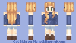 Blondie Minecraft Skin