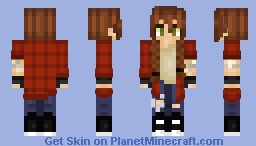 Redheaded Girl With Flannel Minecraft