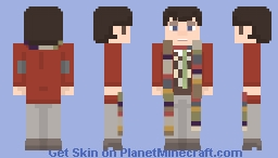 Fourth Doctor Minecraft Skin