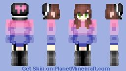 Bisexual Pride Minecraft Skin