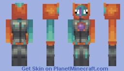   Deoxys Speed Form   Minecraft Skin