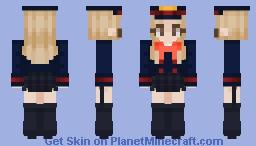 Camie Utsushimi - Shikestu High Uniform   Nayoung Minecraft Skin