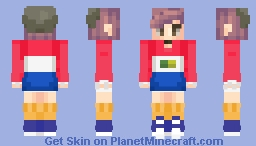 Mercury Inspired Outfit Minecraft Skin