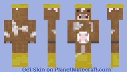 ~ A Jersey Cow's Rainy Day ~ Minecraft Skin