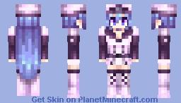 Esdeath [Akame ga Kill] Minecraft Skin