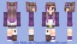 LΑΞΝΑ || Purple Sun Minecraft Skin