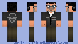 Mark Walking Dead (Game) By Ryan Gamerguy Minecraft Skin