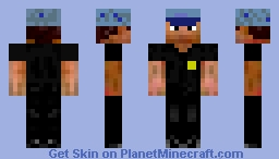 BlueStarLine Crew member Minecraft Skin
