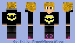 Batman Fan Minecraft Skin