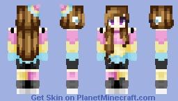 Pansexual Pride Minecraft Skin