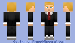 Eobard Thawne (ish) from Doom World s2 of LoT Minecraft Skin