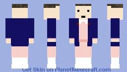 Eleven - Stranger Things Minecraft Skin
