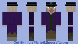witch with hat Minecraft Skin