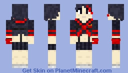 Kill La Kill - Ryuko Matoi Minecraft Skin