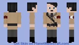 Adolf Hitler {Please read description} Minecraft Skin