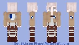 Shingeki No Kyojin Survey Corps skin Minecraft Skin