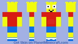 Bart Simpson Minecraft Skin