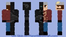 Zoom/Jay Garrick Minecraft Skin