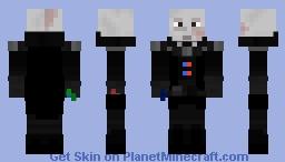 Damaged Darth Vader Minecraft Skin