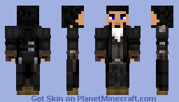 The Shifty Tradesman (Frontier Edition) Minecraft Skin