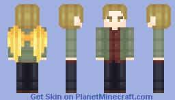 Gabriel -Supernatural- Minecraft Skin