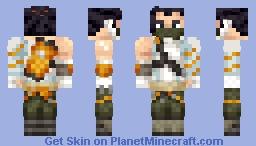 Cyberninja Hanzo Minecraft Skin
