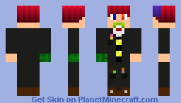Henry the Crazy Wizard Minecraft Skin