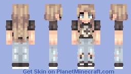 1 year Minecraft Skin