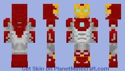 Iron Man mk47 - Homecoming Minecraft Skin